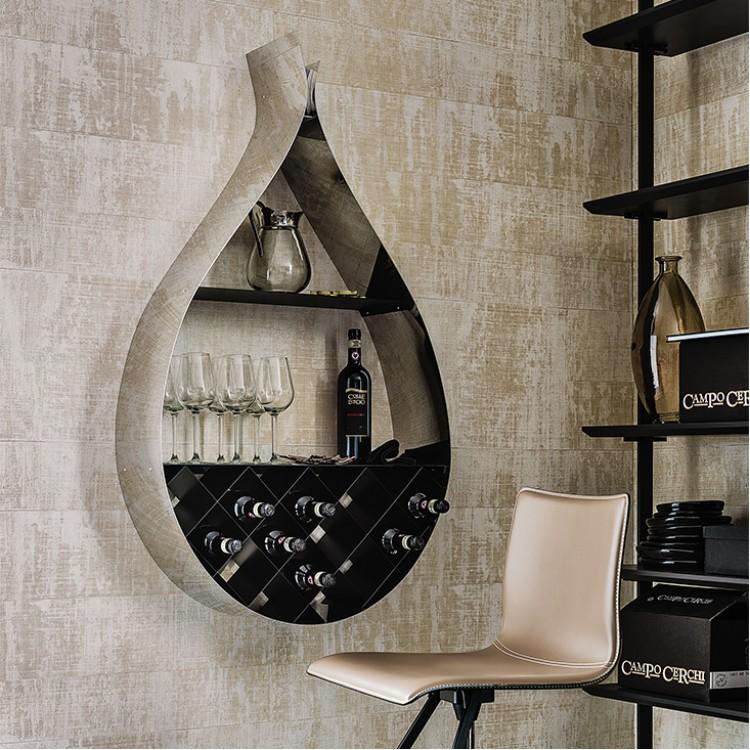 Drop portabottiglie porta vini cattelan attanasio shop - Porta vini da parete ...