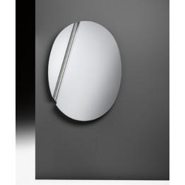 THE WING specchio da parete ovale Fiam
