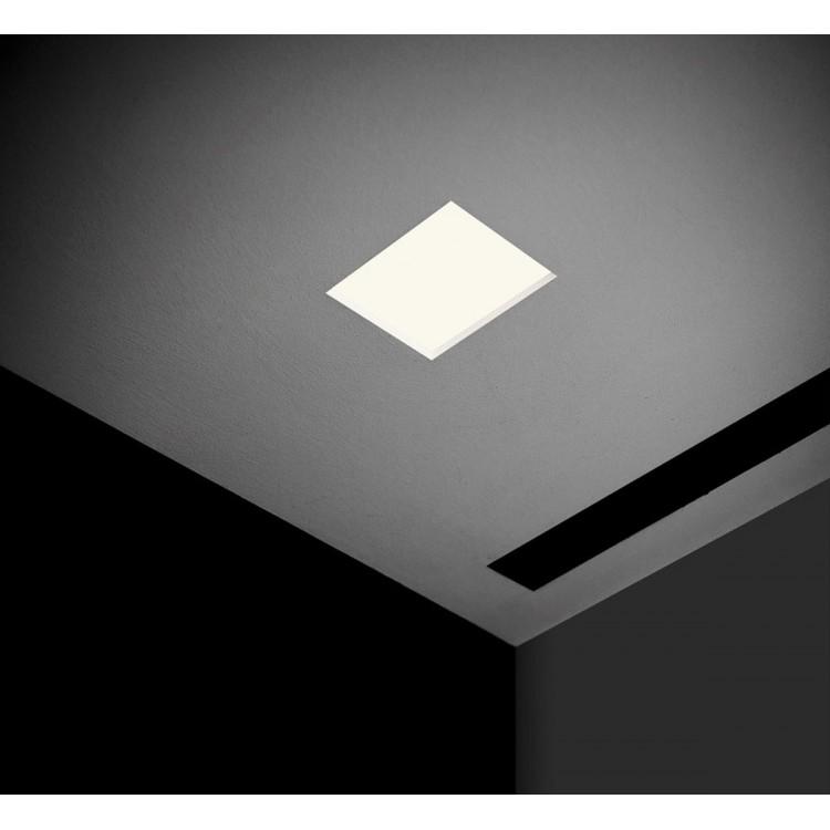 Punto fl lampada da incasso a soffitto davide groppi for Lampade da incasso