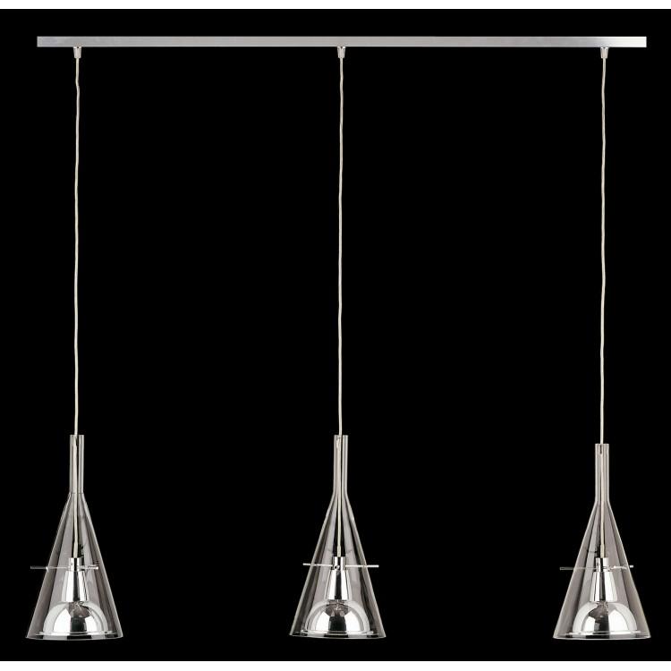 Flute 3 tripla lampada a sospensione fontanaarte for Cappello lampada fontana arte