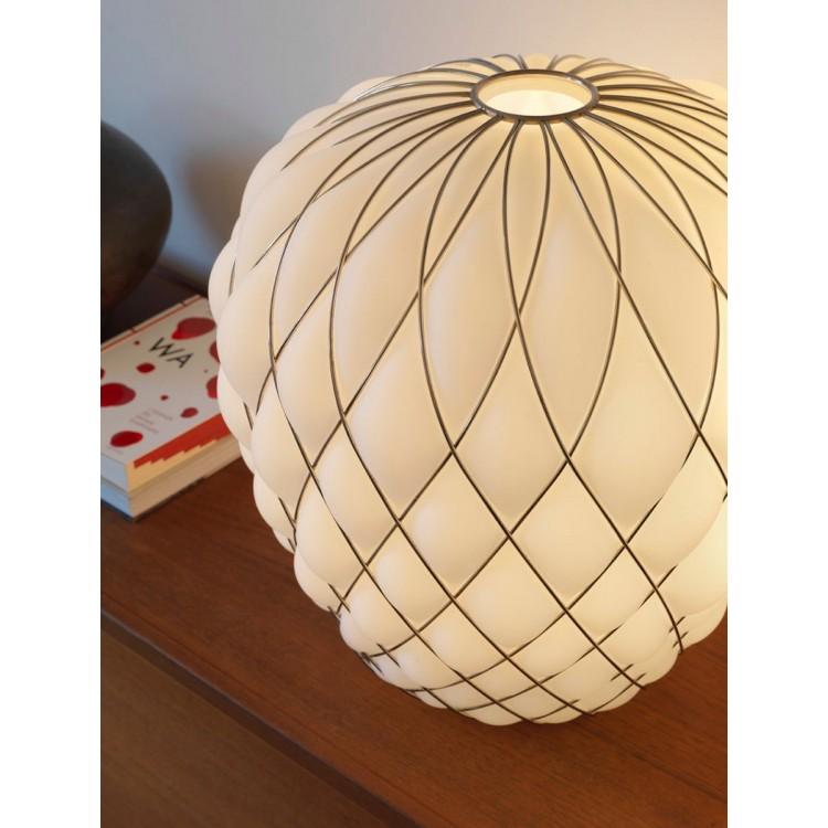 Pinecone lampada da tavolo fontanaarte attanasio shop for Cappello lampada fontana arte