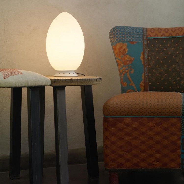 Uovo fontanaarte lampada da tavolo for Lampada uovo fontana arte