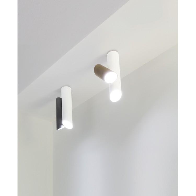 Tubes large led lampada da soffitto nemo attanasio shop for Lampade a soffitto