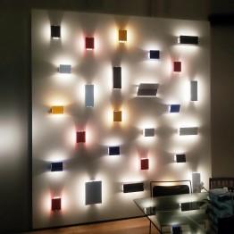 APPLIQUE A VOLET PIVOTANT PLIE' NEMO lampada da parete