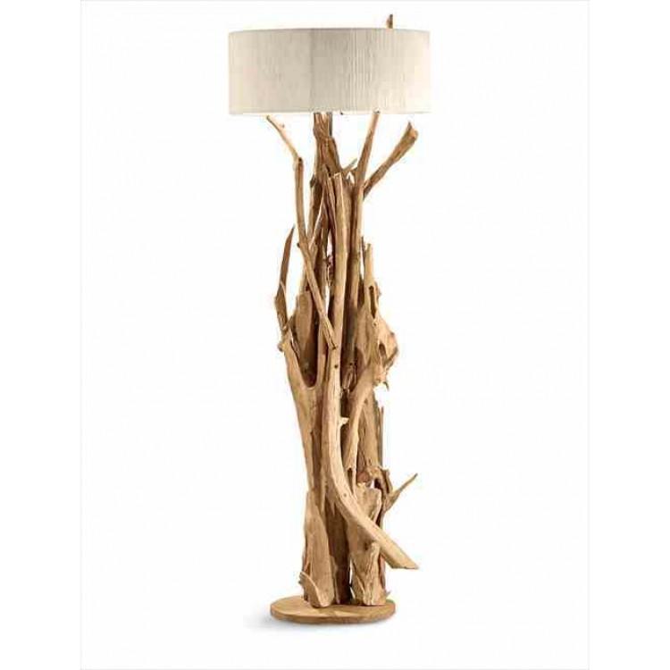 Rami grande lampada da tavolo in legno ND1375 Nature ...