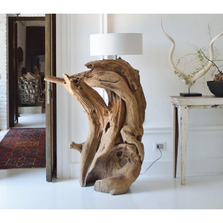 Lampade Da Terra In Legno ~ Ispirazione design casa