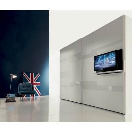 STRIP FIMAR armadio scorrevole con inserto TV