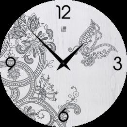 MARRAKECH FANTASY COLD orologio da muro Lignis