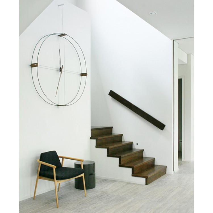 Delmori nomon orologio da parete attanasio shop - Orologio design parete ...