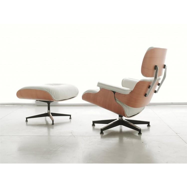 Poltrona Eames Bianca.Charles Eames Art 716 Poggiapiedi Alivar