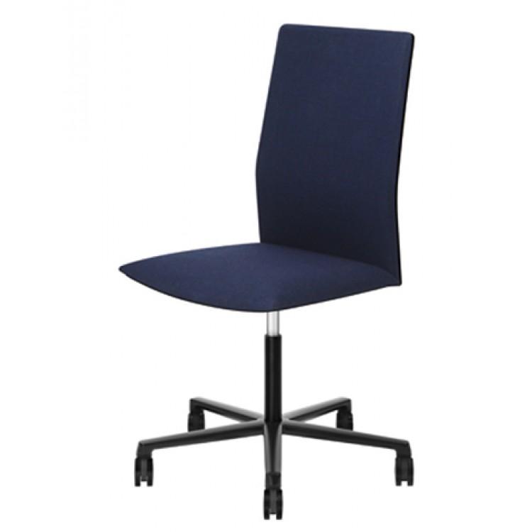 kinesit sedia 5 razze con ruote schienale imbottito con