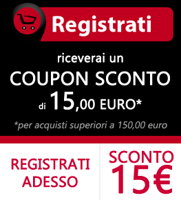 Sconto 15 Euro - attanasioshop.com