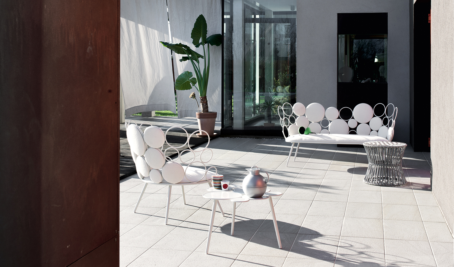 Divano Outdoor Grace by Saba Italia